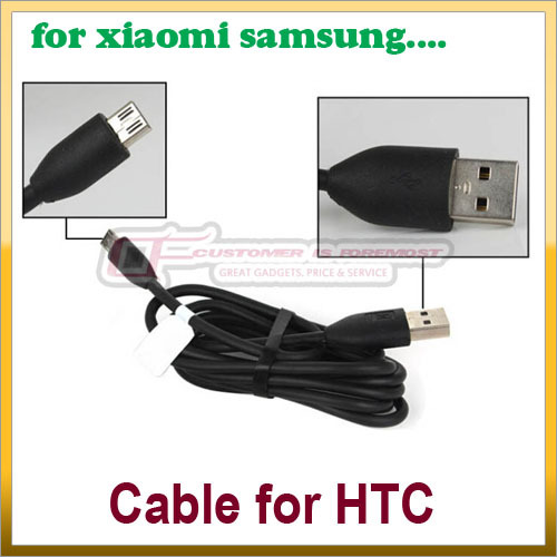 1Pcs Micro USB Data & Charger Cable For HTC EVO 3D 4G for Samsung for LG xiaomi NokiaFree Shipping(China (Mainland))