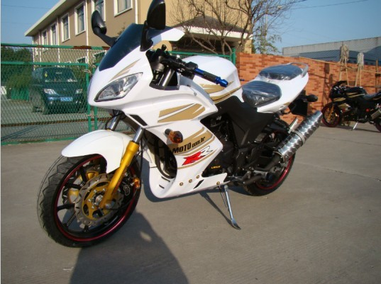 4-Stroke Engine Type and 250cc Displacement 250cc racing motorcycle(MT-01)(China (Mainland))