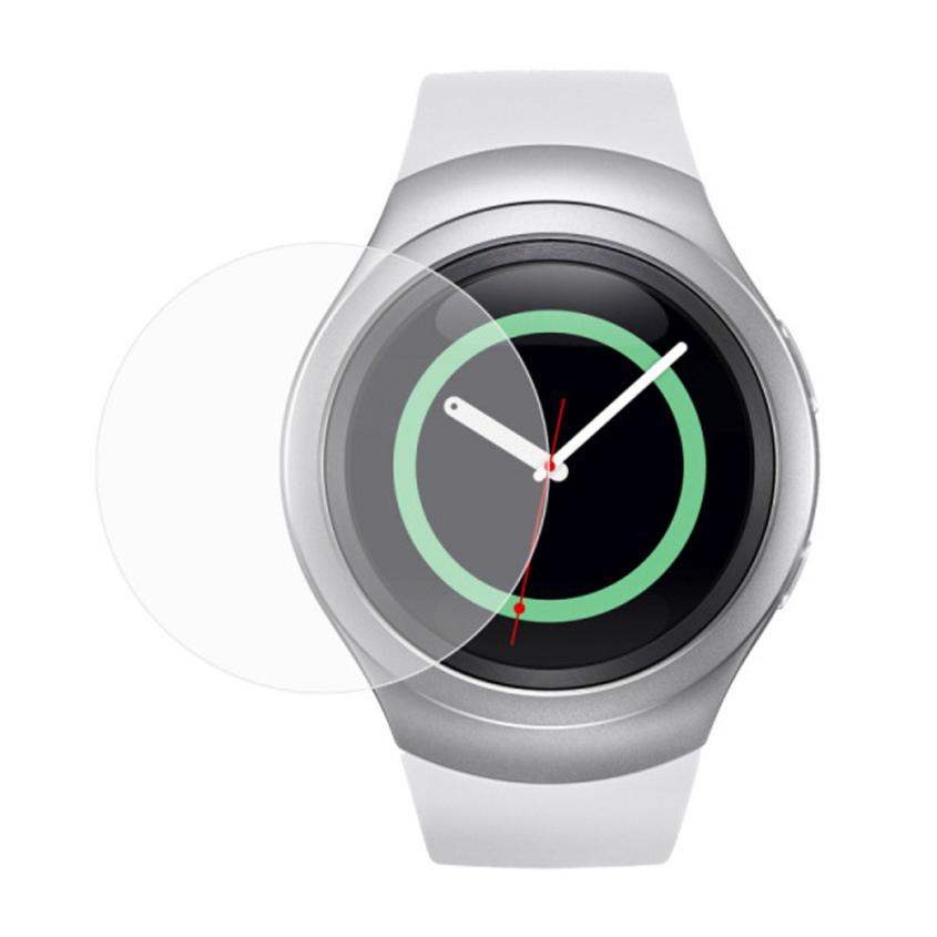Hot Selling Tempered Glass LCD Screen Protector Film for Samsung Galaxy Gear S2 Classic SM-R7320 B31122(China (Mainland))