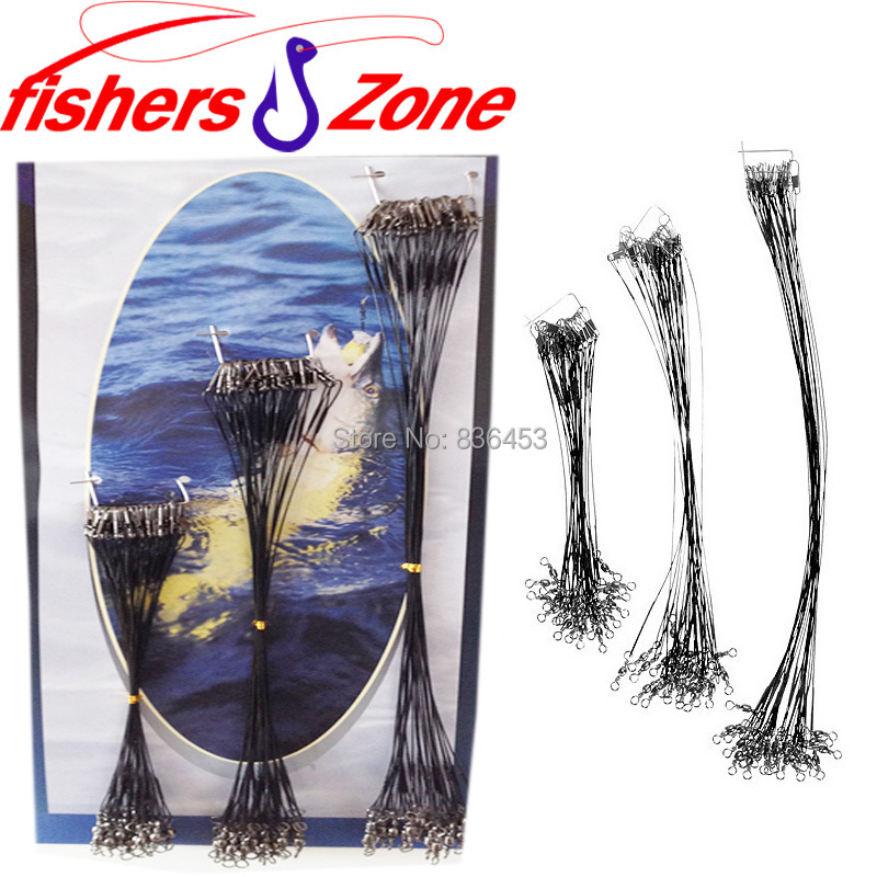 72pcs/lot Stainless Steel Fishing Wire Connector Sinking Line Fishing Lure Trace Steel Wire Spinner Fishing Ropes(China (Mainland))