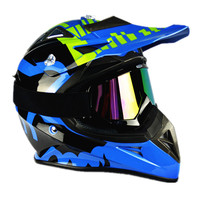 2016 New Top quality Off-Road V3 Motocross Helmet Motorcycle Motorbike Racing Helmet DH Downhill MX MTB Capacete With Goggles