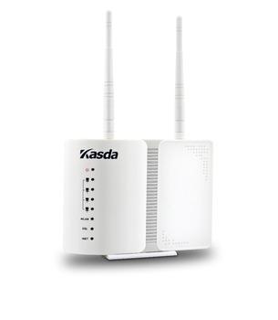 Kasda ADSL2+ Modem Wireless Router 802.11n/b/g 300Mbps WIFI 2T2R MIMO Antennas Dual WAN KW5813BUS Freeshipping