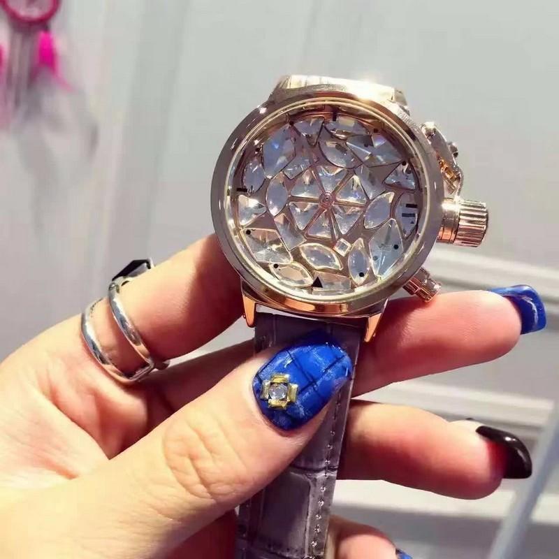 Роскошные Женщины Горный Хрусталь Часы Платье Часы Полный Большой Кристалл Алмаза женщин Роскошные Часы Женские Кварцевые Часы relojes