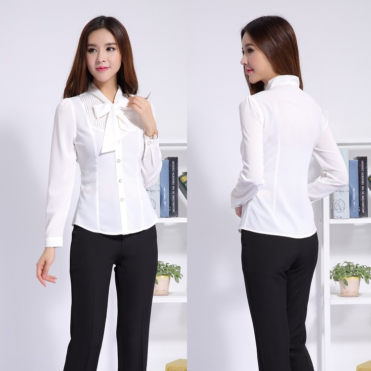Ladies professional office uniform designs women business for Office uniform design 2016