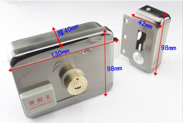 for Electronic remote control lock household integrated card lock