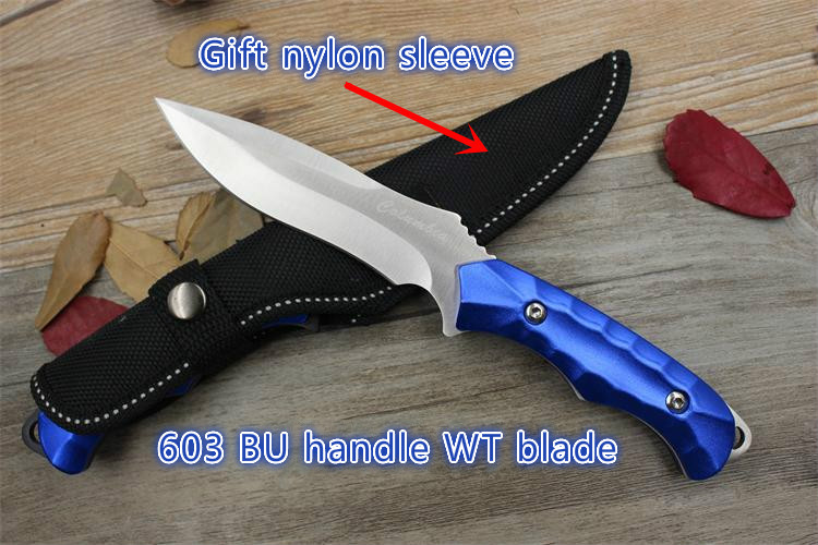 Buy High-carbon stahl Mini straight knife jagdmesser sharp handmade geschmiedete klinge camping tactical survival rescue tool cheap