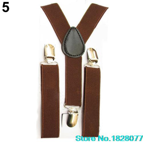 2015 Hot-sale Lovely Kids Suspender Elastic Adjustable Clip-On Braces for children's comfortablity(China (Mainland))