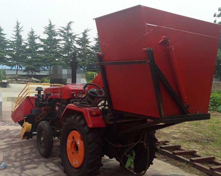 New product 4YB-2 2 rows corn harvester with shredding function,maize combined harvesting machine(China (Mainland))