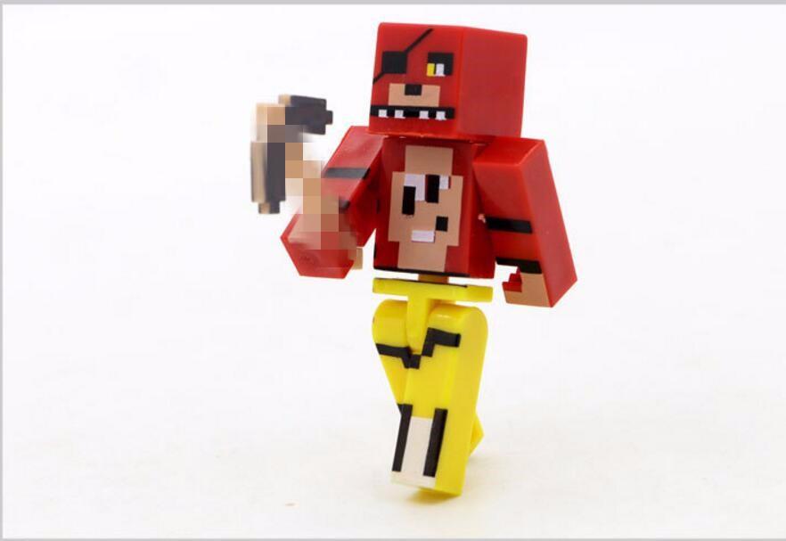 Minecraft Toy Freddy : Pcs set minecraft five nights at freddy s fnaf foxy