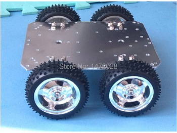Billige Intelligente Rc Chassis 4wd 25mm Motor 85mm Rad