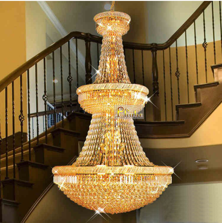 Bagel Shape! Large Traditional Crystal Chandelier Light Fixture,Gold Plated Finish, Guaranteed 100%+Free Shipping!<br><br>Aliexpress