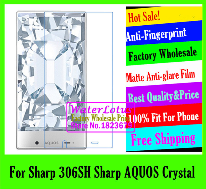 For Sharp 306SH Sharp AQUOS Crystal Matte Anti-glare mobile protective LCD film phone screen protector de pantalla LCD projector(China (Mainland))