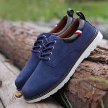 2015 autumn winter fashion men shoes casual breathable flats adult male oxfords sneakers size 39 44