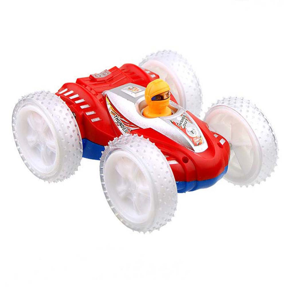 BS#S Double-Sided Truck Somersault Stunt Children's Toy Electric Toy Car Dump(China (Mainland))
