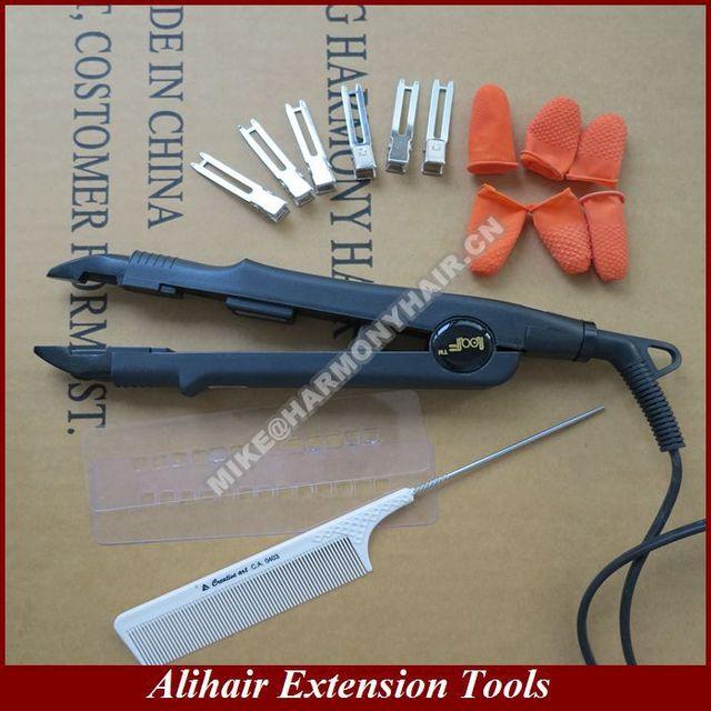 1 шт. укладки волос инструменты регулируемая температура контроль наращивание волос ...