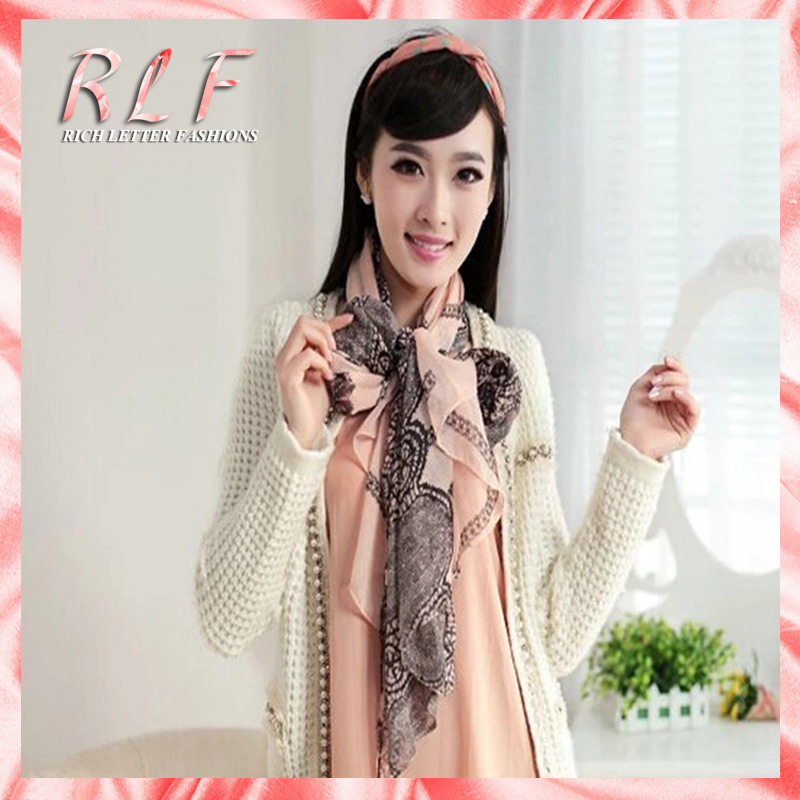 2014 Top Fasion Hijab Scarf Women National Style Lace
