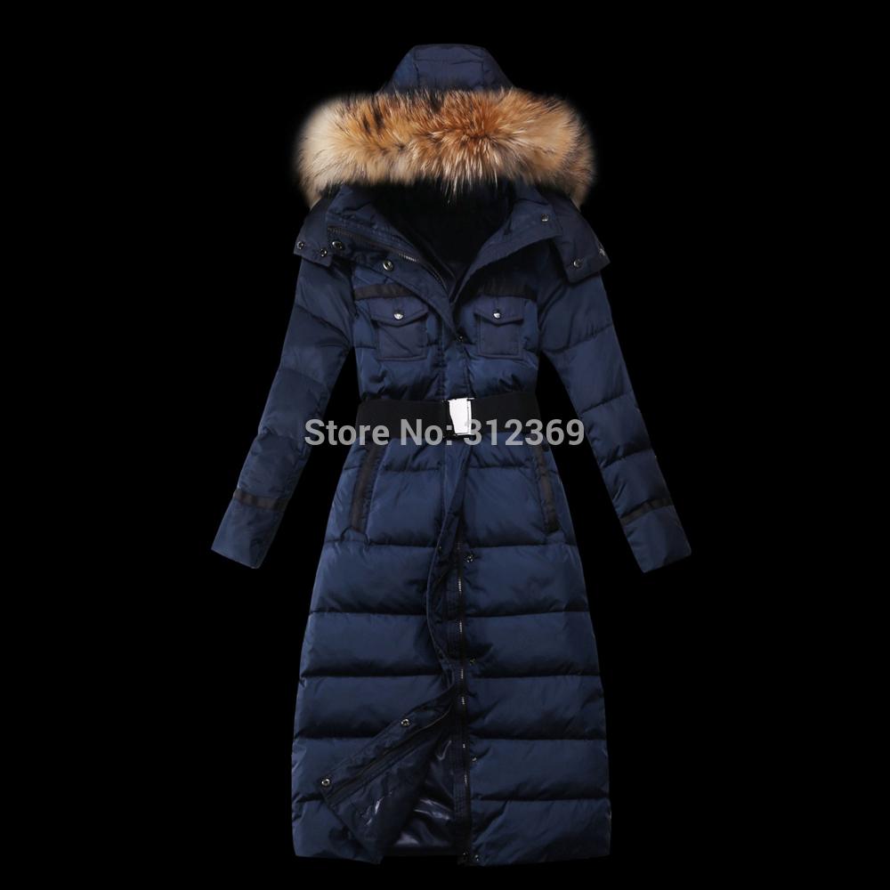 Ladies Long Hooded Winter Coats