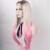 Природный Длинные Прямые Волосы Жаропрочных Синтетические Парики Ombre Блондинка Розовый Парик Glueless Кружева Перед Парики Женщин Бесплатная Доставка