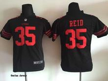 SanS For Youth Torrey Smith,Jerry Rice,Bowman,Patrick Willis,Ronnie Lott,Eric Reid, Red WHITE black red stitched Francisco(China (Mainland))