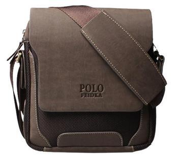 Специальное предложение мужчины из натуральной кожи сумка почтальона сумочки мода известных брендов оксфорд поло сумки 2015 новое поступление B169