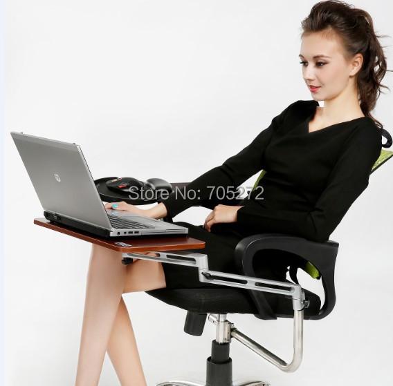 Soporte para silla de computadora con bandejas para for Silla de computadora