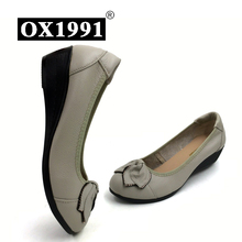 100% Genuine Leather Women High Heels Handmade Brand Fashion Women shoes high heel Black Slip on Casual Wedges Women Pumps(China (Mainland))