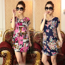 2015 new Fashion Pregnant women tops blouse short sleeved ice cotton loose South Korea leisure large