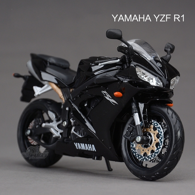 Freeshipping maisto yamaha yzf r1 1 12 for 11 1 8 x 13 g yamaha