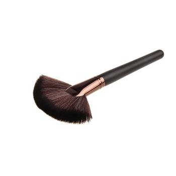 Новый 1 шт. мягкий макияж большая щетка вентилятора румяна макияж инструмент большой ...
