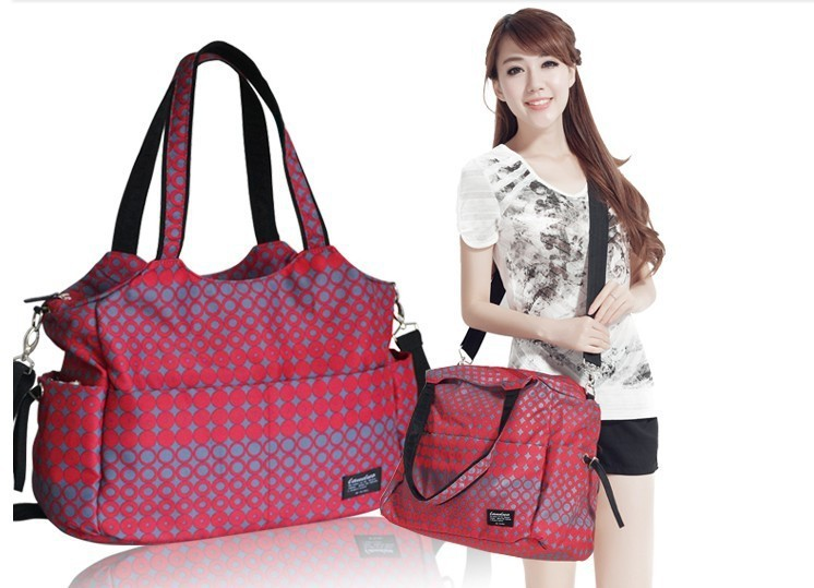 Free Shipping 4 colors 2016 Fashional Multifunction Baby Diaper Bags/Nappy Changing Bag With Big Capacity Waterproof Mummy Bag(China (Mainland))