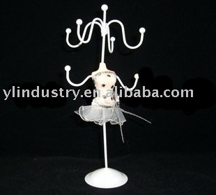 Hot - beautiful jewelry stand jewelry holder in woman shape