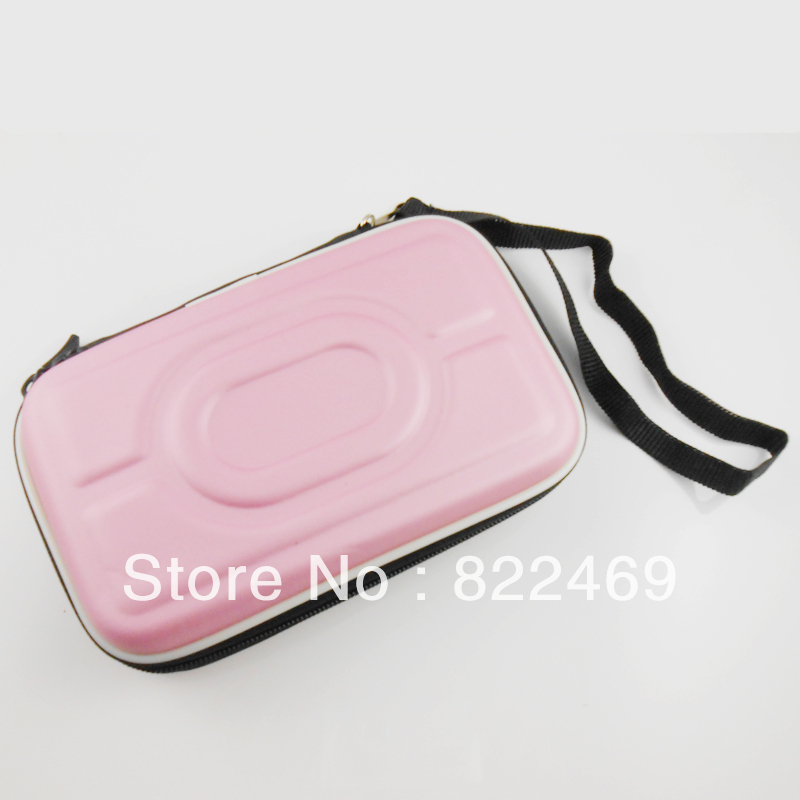 """Portable 2.5"""" Ide/sata HDD Hard Drive Disk Storage Box Pouch Case Carrying Case bag Protection Fits Digital devices (Pink)(China (Mainland))"""
