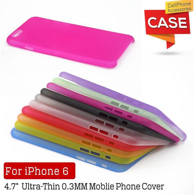 10.3mm Thin Transparent Case iphone 6 4.7 inch TPU Clear Phone Back Cover iPhone6 Cases Cell Shell bags - GreenCat Electronics Co., Ltd. store