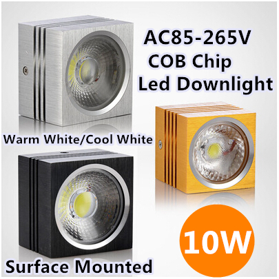 59mm*80mm*80mm Furniture Light Lighting Warm White/Cool White COB Led t Low-Energy High Quality Material 3pcs/lot 10W Downlight<br><br>Aliexpress