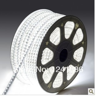 5050 LED strip 110V 220V 230V 240V voltage IP65 Waterproof led flexible SMD 60leds/M 300leds/5M+ Plug(China (Mainland))