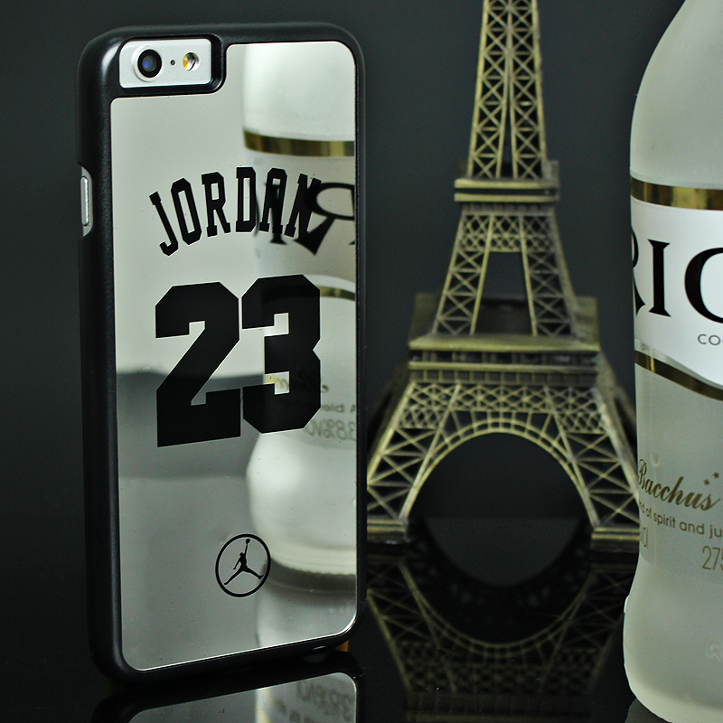 Famous Basketball Champion No 23 Jordan Back Cover Case For iPhone 6 6S Back Cover Brand PC Hard Mirror Phone Case(China (Mainland))