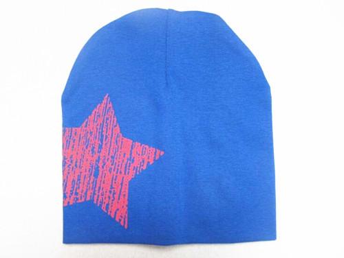 82 2015 нью-унисекс детские мальчик девочка малыш малолетними детьми хлопок мягкий симпатичные Hat Cap зима звезда головные уборы для шапочки аксессуары