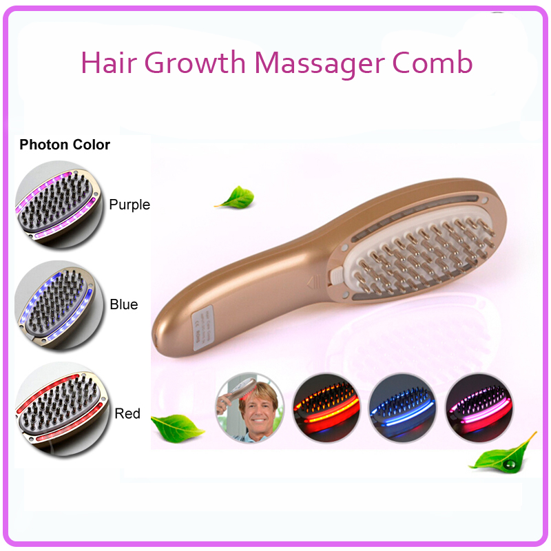 Electric Hair Follicle Stimulation Nourishing Restoration Regrowth Massager Comb For Men And Women Hair Loss Treatment<br><br>Aliexpress