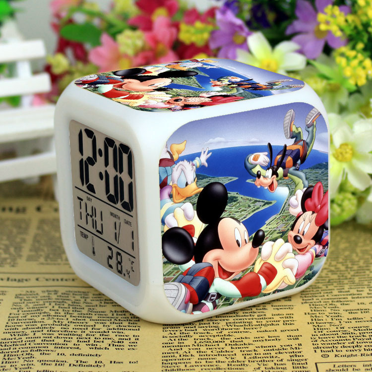 Mickey Mouse Alarm Clock Mickey Mouse Alarm Clock With