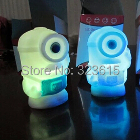 Precious Milk Dad Minions Colorful Night Light Led Lights Glow Holiday Decorations Toys And Gifts For Children <br><br>Aliexpress