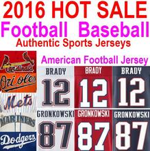 2016 Hot Sale American Football Baseball Jersey Women Kids Rob Gronkowski Jersey Authentic Sports Jerseys China Tom Brady Jersey(China (Mainland))