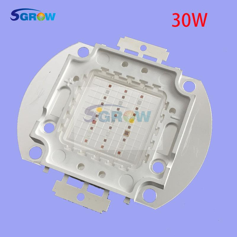30w led grow chip ,DIY grow light 8 band led grow chip for cultivate /vegetative/flowering ,best choice for medical plant(China (Mainland))