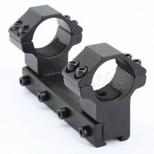 Hot Sell Hunting Accessories 100mm Long Dovetail Rail Top Waver Rail 25.4mm Scope Ring Mount for Scope/Flashlight
