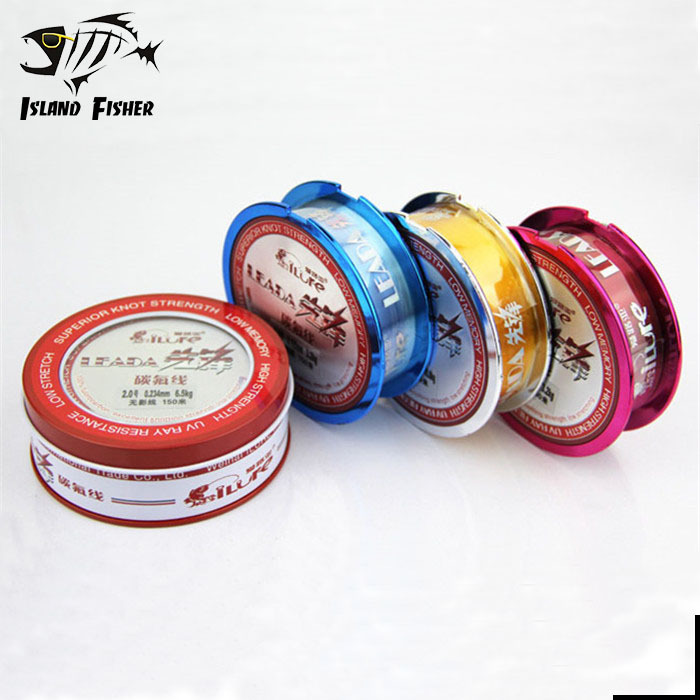 150m Fluorocarbon fishing line Super Strong Fast Sinking Monofilament Line Carp Wire leader line fishing tackle(China (Mainland))