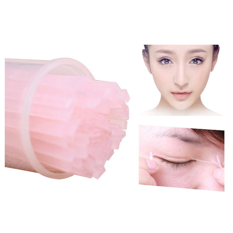 200 pcs Invisible Double Eyelid Fiber Magic Beautiful Eyes Stickers Eyelid Past Eyes Beauty Cosmetic Makeup Tools