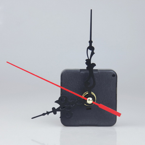 Quartz Movement 3 Pointers Clockwork Wall Clock Mechanism Repair DIY Tool Kit + Red Hand Clocks Accessories(China (Mainland))