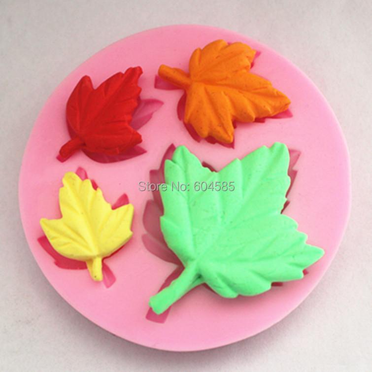 Cake Decorating Leaves : DIY Cake Decorating Buttonwood Tree Leaves Mini Mold ...