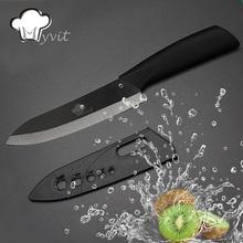 Myvit Марка Керамический Нож Фруктов Нож Для Приготовления Пищи Инструменты Одного 3 »/'/' '/' 6»Black Лезвия 6 Цвет Ручки Обстрагывая Ножи