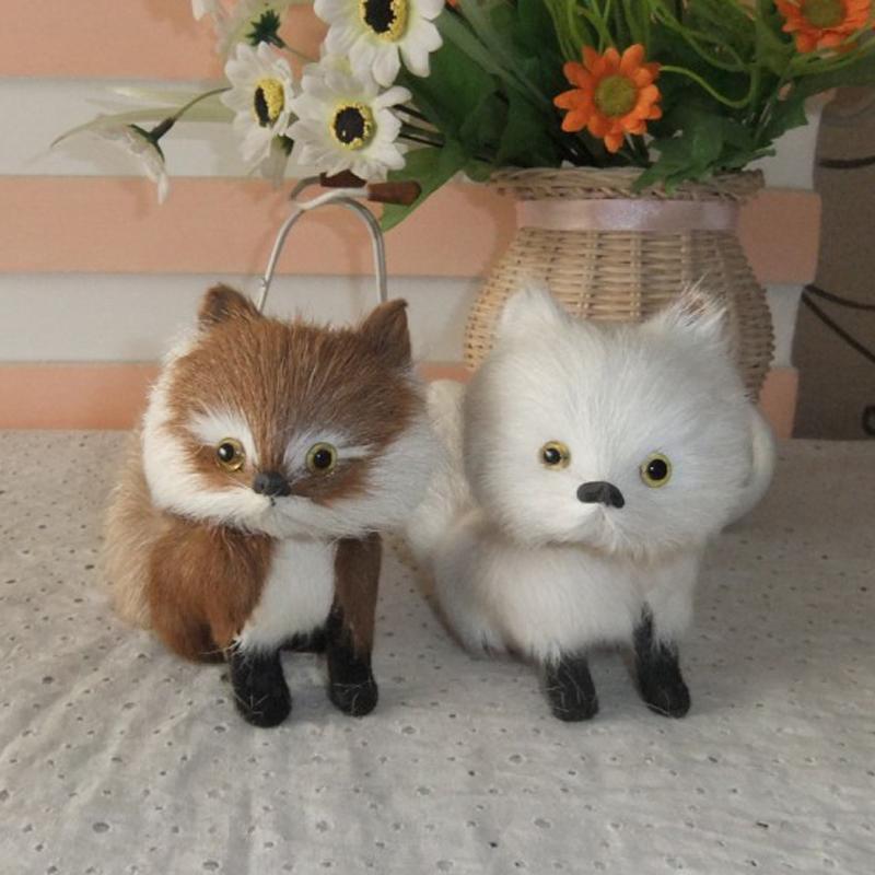 2pcs/lot Fox leather Toys Creative Doll Kawaii Male Female Birthday Gift 2016 New Stuffed Animals(China (Mainland))
