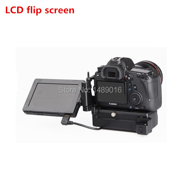 Shutter Release GGS SWIVI Bigview SV-50H II External LCD Flip Screen the Integral Connection Peak Auxiliary Focusing(China (Mainland))